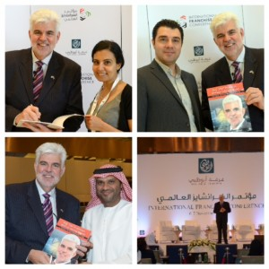 At the International Franchise Conference in Abu Dhabi, November 2013. Opportunities abound in the UAE for franchise expansion.