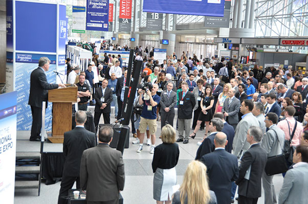 Franchise expo attendees